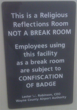 They're not kidding.  They will take that badge away, my friends.