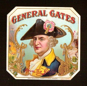 General Gates   General Horatio Gates   Revolutionary War   Rare  4x4    150
