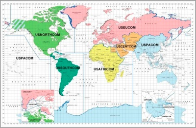 Unified command world map